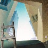 Riparazione dell'appartamento. royalty illustrazione gratis