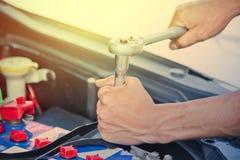 Riparazione dell'automobile Fotografia Stock Libera da Diritti