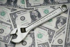 Riparazione dell'economia americana Fotografia Stock