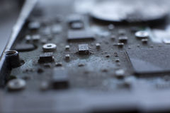 Riparazione della componente di calcolatore Fotografia Stock Libera da Diritti