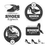 Riparazione delle scarpe Fotografia Stock