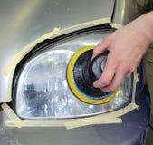 Riparazione leggera dell'automobile, riparante Immagine Stock