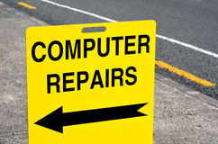 Riparazioni del computer Fotografia Stock Libera da Diritti