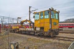 Ripari i treni Fotografie Stock Libere da Diritti