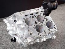 Ripari il blocchetto dei cilindri, parità automobilistica di alluminio del motore di dimensione di ispezione dell'operatore in fa Immagine Stock