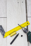 Ripari il pavimento Fotografia Stock