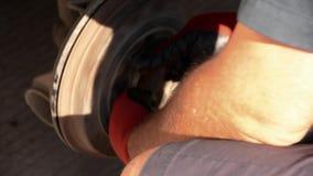 Ripari il tamburo automatico stock footage