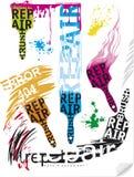 Ripari le spazzole Fotografia Stock Libera da Diritti