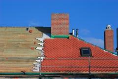 Ripari un tetto Fotografia Stock