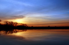 Free Riparian Sunset Stock Photos - 2510403