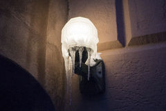 Riparo del ghiaccio: South End Fotografia Stock Libera da Diritti