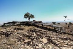Riparo di Gobekli Tepe Fotografia Stock