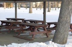 Riparo di picnic Immagine Stock Libera da Diritti