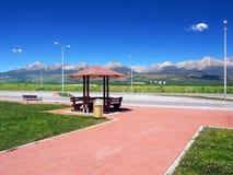 Riparo ed alto Tatras di estate Fotografia Stock