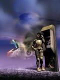 Ripartizione dell'astronave Fotografia Stock