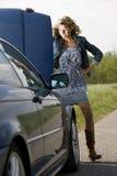 Ripartizione dell'automobile Fotografie Stock