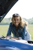 Ripartizione dell'automobile Fotografie Stock Libere da Diritti
