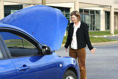 Ripartizione dell'automobile immagini stock libere da diritti