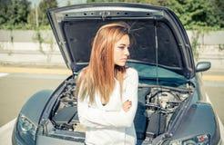 Ripartizione dell'automobile Fotografia Stock Libera da Diritti