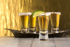 Ripasso Tequila Shots Stock Image