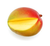 Ripe appetizing mango Royalty Free Stock Image