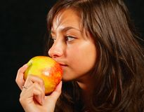 Ripe apple Stock Photography