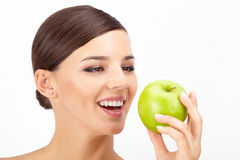 Ripe apple Royalty Free Stock Photography