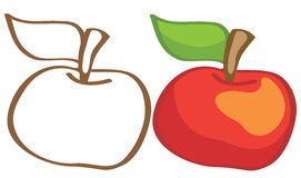 Ripe apple Stock Images
