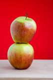 Ripe apple Royalty Free Stock Images