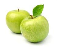 Ripe apples fruit Stock Photo