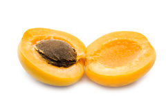 Ripe apricot Royalty Free Stock Image