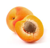 Ripe apricot Royalty Free Stock Photography