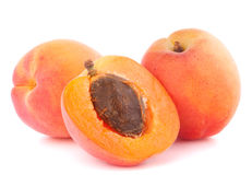 Ripe apricot fruit Stock Photo