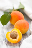 Ripe apricots. Royalty Free Stock Images