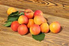 Ripe apricots Stock Photo