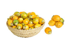 Ripe areca nut also called as betel nut Royalty Free Stock Photos