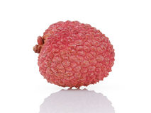 Ripe asian lychee fruit Stock Images