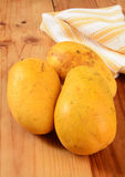 Ripe Asian Mangoes Stock Photography
