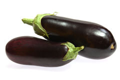 Ripe Aubergine Royalty Free Stock Photo