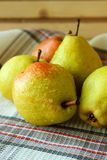 Ripe autumn pears Royalty Free Stock Images