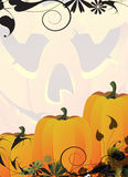 Ripe autumn pumpkins Royalty Free Stock Photography
