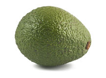 Ripe avocado Stock Images