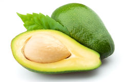 Ripe avocado Stock Image