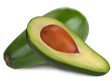 Ripe avocado Royalty Free Stock Photos