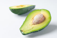 Ripe avocado Stock Photo