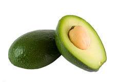 Ripe avocado Stock Images