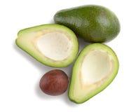 Ripe avocado. Above view Royalty Free Stock Photos