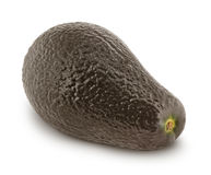 Ripe avocado isolated on white background Royalty Free Stock Image