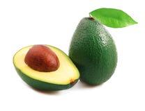 Ripe avocado . Stock Photo