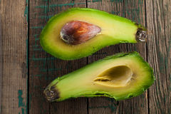 Ripe avocado Royalty Free Stock Photos